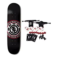 ELEMENT SKATEBOARDS Complete Skateboard TEAM SEAL BLACK 8.5 from ELEMENT