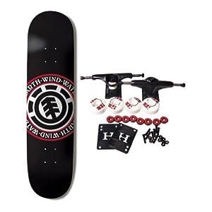 ELEMENT SKATEBOARDS Complete Skateboard TEAM SEAL BLACK 8.5 from ELEMENT