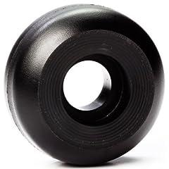 Yak Inline Skate Wheels 47mm x 88a AGGRESSIVE Inline Black 8 Wheels by Inline