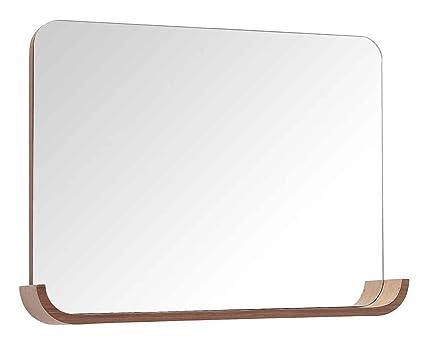 "Avanity SIENA-MB35-CH Mirror with Shelf, 35"", Chestnut Finish"