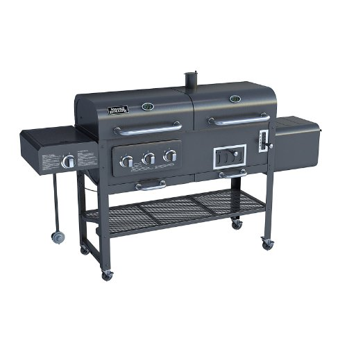 Smoke Hollow Gas/Charcoal Smoker Grill 47180T
