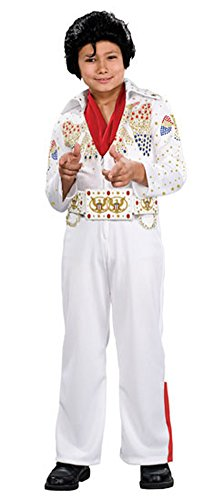 Boys - Elvis Deluxe Child Lg Halloween Costume - Child Large