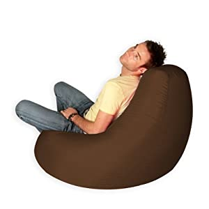 I Highly Recommend For Sale Designer Recliner Gaming Bean Bag BROWN    Indoor U0026 Outdoor Beanbag Chair (Water Resistant) For Anyone. I Absolutly  Love It!