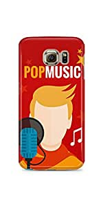 Pop Music Samsung Galaxy S6 Matte Case
