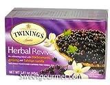 Twinings Blackcurrant Ginseng Vanilla Caffeine Free 20 40g