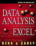 img - for Data Analysis with Microsoft Excel: Updated for Office 2000 book / textbook / text book
