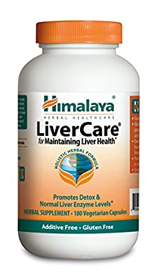 Himalaya LiverCare/Liv.52, 180 Vegetarian Capsules for Liver Detox 375mg