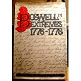 Boswell in Extremes, 1776-1778 (0070690596) by James Boswell