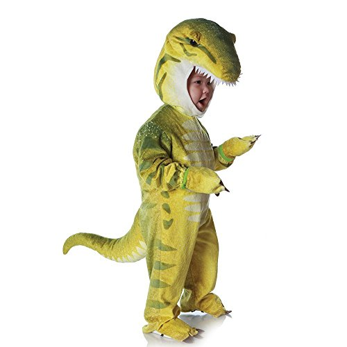 Underwraps Costumes Baby's T-Rex Costume Jumpsuit, Green, Small