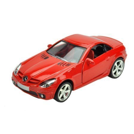 Diecast cars Mercedes-Benz SLK 1:32 Red Model Cars (Mercedes Benz Model Cars compare prices)