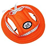 Banggood Pet Dog Cat Princess Visor Hat Peaked Cap Sunbonnet Outdoor Topee S Orange