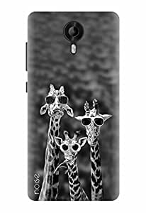 Noise Designer Printed Case / Cover for Micromax Canvas Amaze 2 / Patterns & Ethnic / Giraffes Design