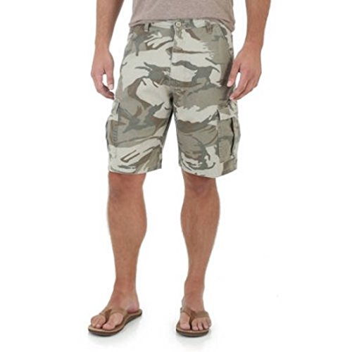 Men's Denim Cargo Shorts - Camo