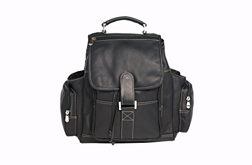 david-king-co-deluxe-top-handle-extra-large-sac-a-dos-noir-taille