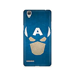 Ebby Captain America The Great Defender Premium Printed Case For Oppo F1