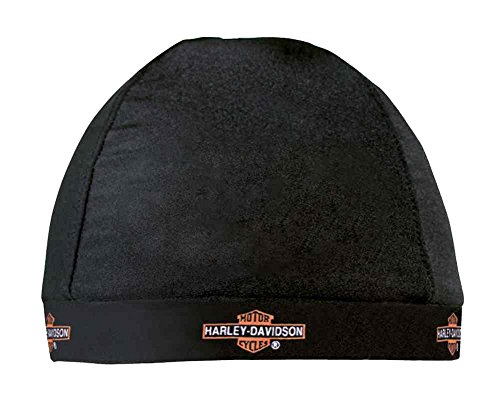 Harley-Davidson® Barbed Long Bar & Shield Skull Cap, HC31230. Made of 85% nylon and 15% spandex. HC31230 (Harley Skull Cap compare prices)
