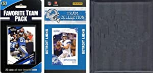 NFL Detroit Lions Licensed 2010 Score Team Set and Favorite Player Trading Card Pack... by C&I Collectables