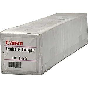 Canon Premium RC Photogloss 42 Inch x 100 Feet 10Mil Paper (0612V938)