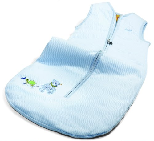 Steiff Steiff«s little circus Teddy bear sleeping bag, light blue Baby Plush