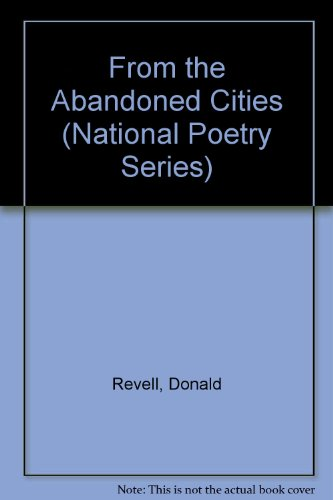 From the Abandoned Cities (National Poetry Series) PDF
