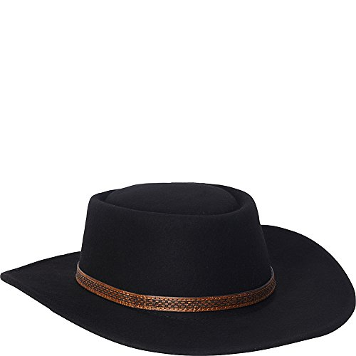 adora-hats-wool-felt-western-hat-black