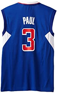 NBA Los Angeles Clippers Blue Replica Jersey Chris Paul #3 by adidas