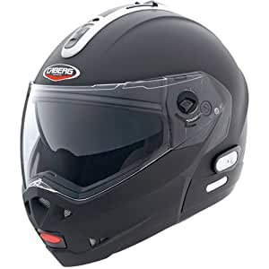 Caberg Konda Flip Front Motorcycle Helmet - Matt Black X-Large