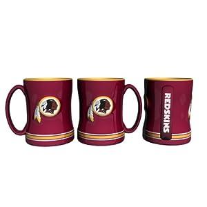 NFL Washington Redskins Boxed Relief Sculpted Mug by Boelter