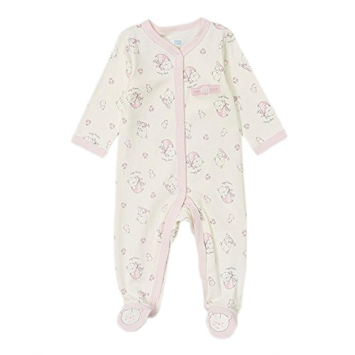 Vitamins Baby Girls 0-9 Months Bears Sleep N Play (Newborn, Beige)