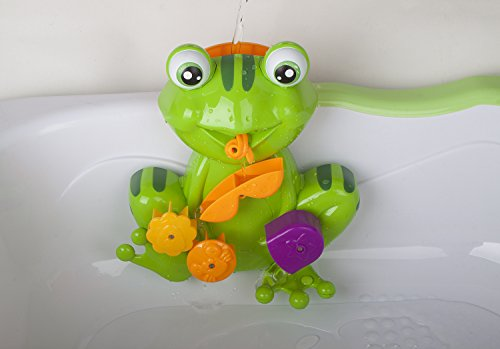 zig zag kid non toxic frog baby bath toys green baby. Black Bedroom Furniture Sets. Home Design Ideas