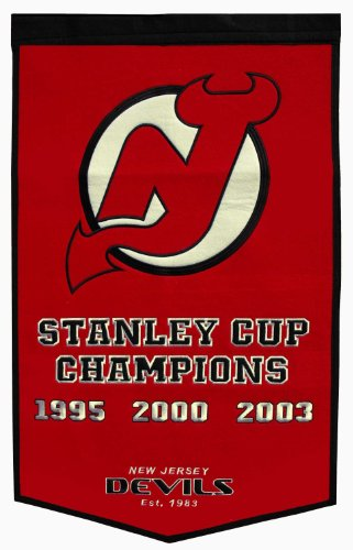 NHL New Jersey Devils Dynasty Banner (Devils Stanley Cup compare prices)