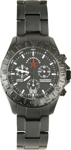 KALASHNIKOV Watches sale: Kalashnikov Watch 1000 Model AK1000 Limited Edition Watch with Black Face