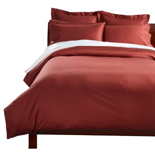 Cuddledown 400 Thread Count Comforter Cover, King, Spice front-799273
