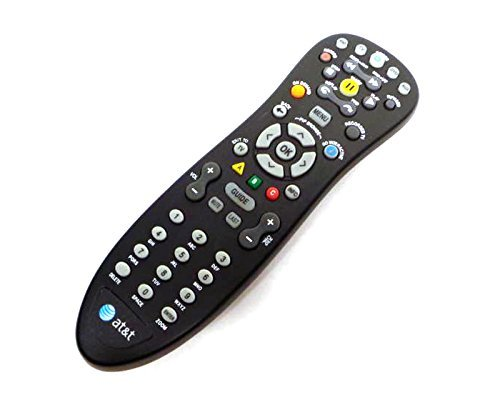 Genuine AT&T U-Verse S10-S3 Standard IR Infrared Multifunctional Digital DVR TV Television Universal Cable Box Black Remote Control Controller C1-517609733288, CYB UG-R31111 (Att Universal Remote compare prices)