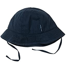 POLARN O. PYRET CLASSIC SUNHAT WITH UV - 9-12 months/Navy