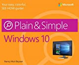 img - for Windows 10 Plain & Simple book / textbook / text book