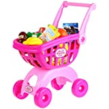 Holy Stone® Grocery Shopping Cart Pretend Play Toy for Toddlers(Gifts for kids)