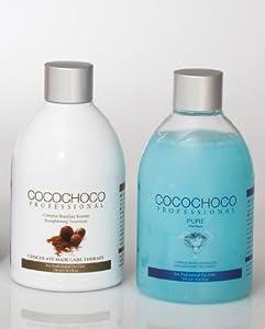 COCOCHOCO Original Brazilian Keratin Treatment 8.4 Oz + COCOCHOCO Pure Total Repair 8.4 OZ