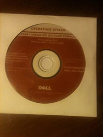 Dell Windows VISTA Business 32 bit INSTALL REINSTALL DISC DVD