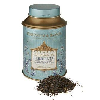 フォートナム&メイソン紅茶 ダージリン ファイネスト ティップ ゴールデン ティップ  オレンジ ペコ (FTGFOP) 125g丸缶入 Fortnum & Mason