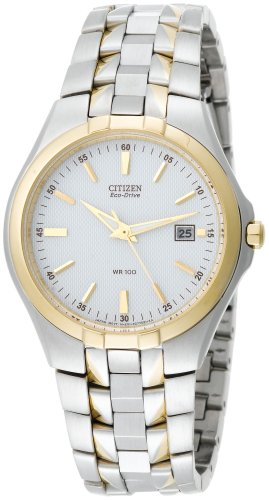 Citizen Men's Eco-Drive Two-Tone Watch #BM6544-51A