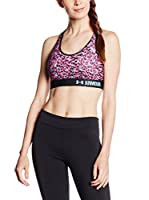 Under Armour Sujetador Deportivo Fitness Mid Printed (Rosa)