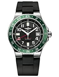 NEW BREITLING LIMITED EDITION AEROMARINE SUPEROCEAN GMT MENS WATCH A32380A3/BA38