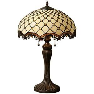 of tiffany tfw900114tl tiffanystyle jewel roman table lamp amber. Black Bedroom Furniture Sets. Home Design Ideas