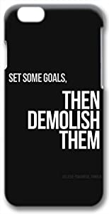 Set Some Goals Quote 3D iPhone 6 Case