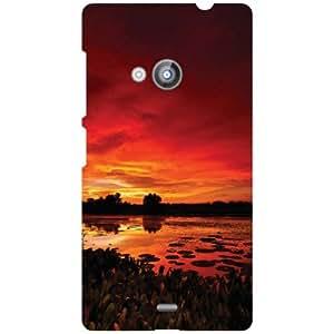 Nokia Lumia 535 Back Cover - Its Super Designer Cases