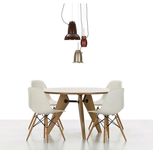 Teamyy wohnzimmerstuhl esszimmerstuhl b rostuhl 4 x for Design sessel nachbau