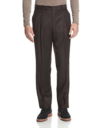 Corbin Men's Flannel Pleated Trouser