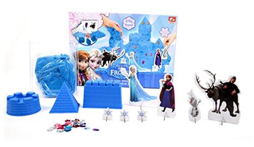 Disney - Frozen: Il regno di Ghiaccio - Il Castello di Elsa - Set di Sabbia da Modellare + Personaggi