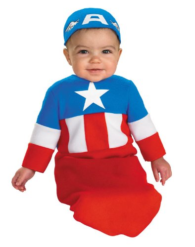 Disguise Inc - Captain America Bunting Infant Costume